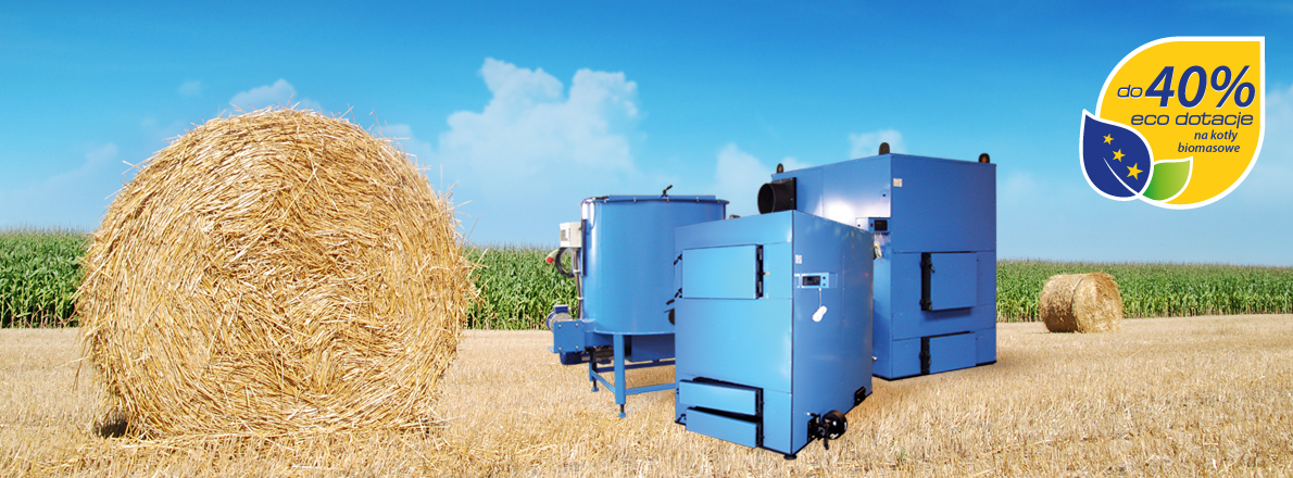 Biomass heating system 25 kW - 2 000 kW