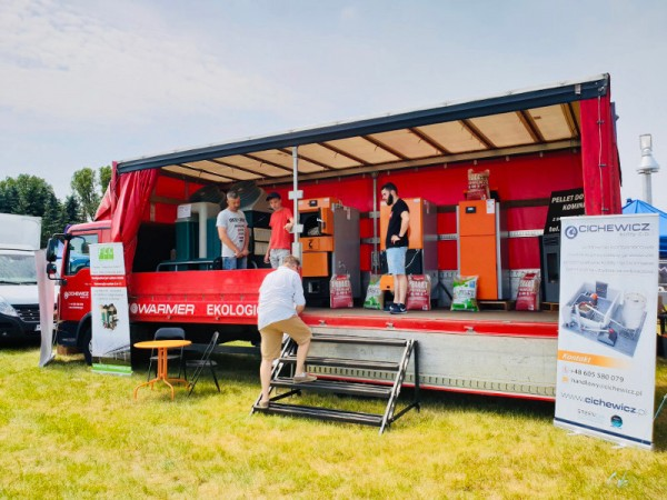 Heating for grower and farmer  - agro fairs in Plonsk