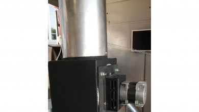 Suction fan programm for pellet and biomasboilers