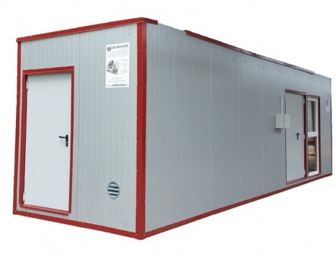 Mobile heat container 150 kw
